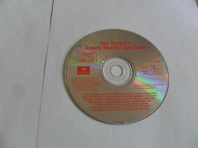 The BEATLES - Sgt. Pepper's Lonely Hearts Club Band (CD) WEST GERMANY Pressing 3