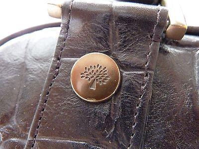 ab5852582047 ... 7 of 12 Genuine MULBERRY Jamie Bag - £595 - Vintage Black Congo Leather  - REDUCED 12