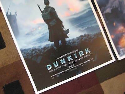 """Dunkirk ( 11"""" x 17"""" ) Movie Collector's Poster Prints ( Set of 3 ) 2"""