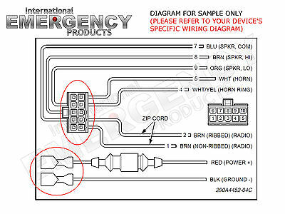 10 PIN CONNECTOR Plug for Federal Signal PA300R Smart Siren Platinum Federal Signal Vision Wiring Diagram on