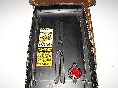 "Vintage Kodak Jiffy Strut Film Camera And Case ""In Good Vintage Condition"" 6"