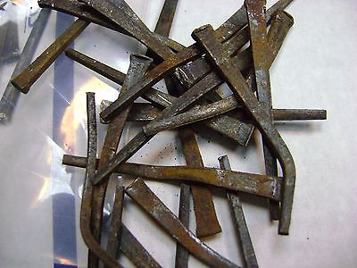 Vintage SQUARE CUT NAILS 4.5 LBS mixed  NAILS asst. mixed cond SEE Photos 5 • CAD $44.65
