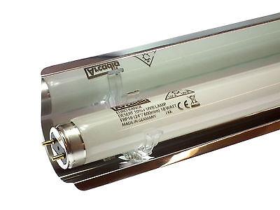 Arcadia Linear Fluorescent Tube Reflectors Clip On T5 or T8 Reptile Aquatic 2
