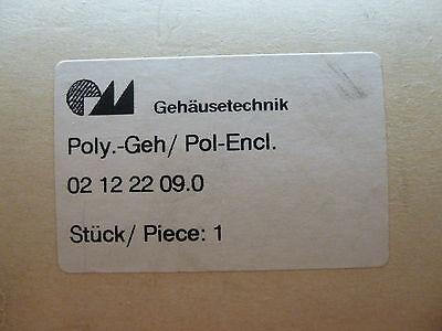 Gehäusetechnik Poly.-Gehäuse 204 x 82 mm Neu OVP