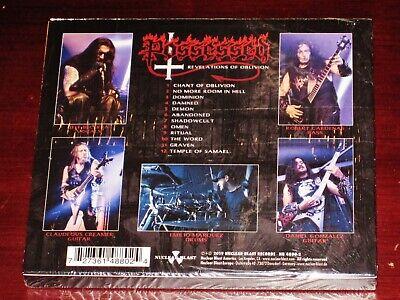 Possessed: Revelations Of Oblivion CD 2019 Nuclear Blast NB 4880-2 Slipcase NEW 3
