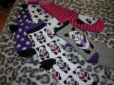 3 Pairs Socks for Girl EU 37/38,5 3