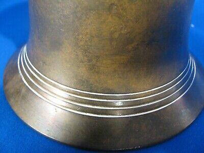 antiker Mörser mit Stößel Messing Bronze? 10