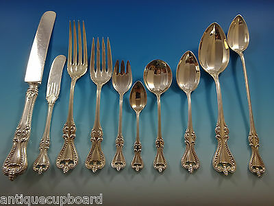 Old Colonial By Towle Sterling Silver Flatware Set Service 80 Pieces Other Antique Furniture