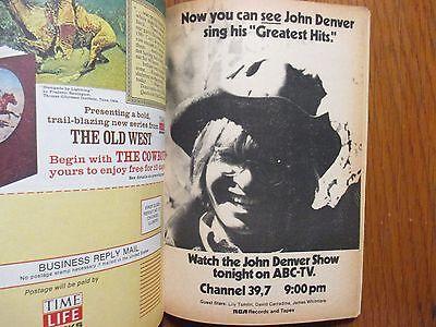 MARCH 9, 1974 TV Guide (THE PARTRIDGE FAMILY/SHIRLEY JONES/JOHN DENVER)