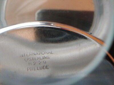 International PRELUDE PLAIN STERLING Plate H229 #1020 5