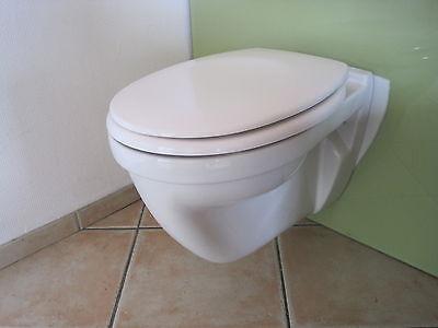 Bekannt TOILETTE HÄNGE WAND WC Flachspüler Ideal Standard für WC SO66