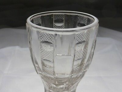Kelchglas geschliffen graviert Böhmen o. Schlesien 1830-50 (Nr. 1115) 2