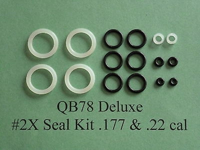 QB78 XS78 TH78 Two (2) Complete O-Ring Reseal  Seal Kits  .177 &  .22 cal.