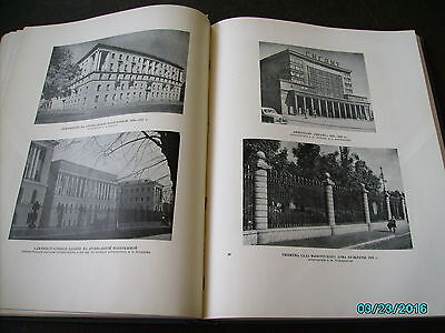 Rare  Russia 1953 Architecture Of Leningrad , Huge Illustrated Book 7