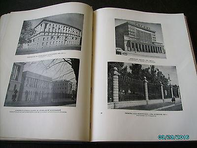 Rare  Russia 1953 Architecture Of Leningrad , Huge Illustrated Book 7