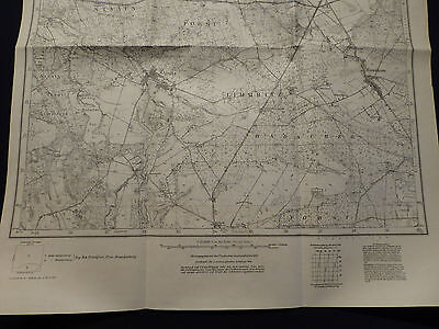 Landkarte Meßtischblatt 3455 Alt Limmritz i.d. Neumark / Lemierzyce Oststernberg