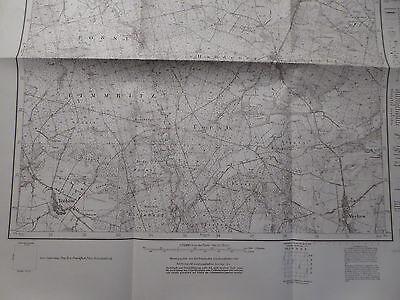 Landkarte Meßtischblatt 3456 Kriescht / Krzeszyce, Oststernberg, Neumark, 1934