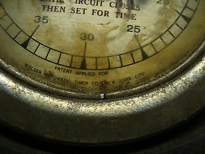 ELLI BUK Collection--Vintage Walser Automatic Timer 8066-b for repair 5