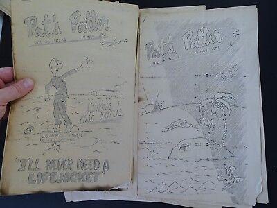 RARE 12 Magazine Newspaper Archive  Pat's Patter Korean War USAT MM Patrick 1951 7