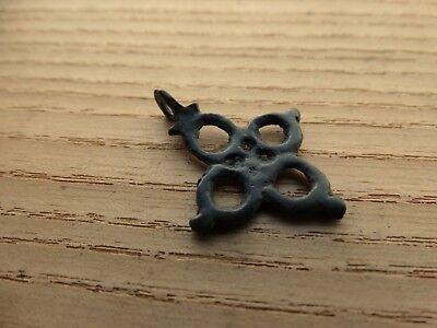 Excellent Viking Pendant Cross. ca 10-11 AD. Kievan Rus. Viking.