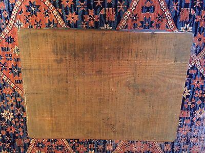 Early Six Plank Pine Footstool Storage Stool Sewing Storage Box 4