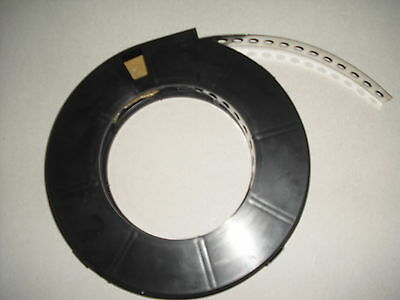 Edelstahl Lochband  V2A  Montagelochband  17 mm breit  1 Rolle ca. 10 m