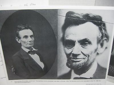 """President Abraham Lincoln 14/""""x11/"""" Photo Aids Teacher/'s Guide Set of 12"""