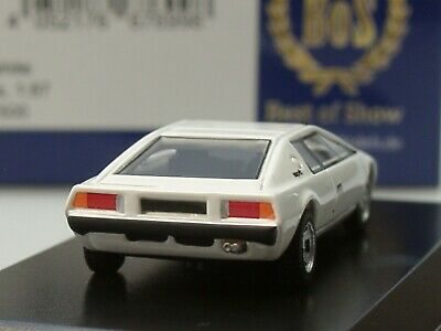 1977-1:87 bos-models Lotus Esprit s1-Weiss-RHD #87500