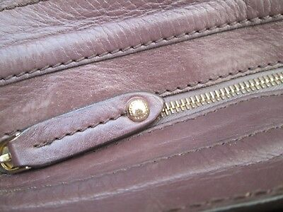 789e5a4f95 ... Magnifique sac à main style cabas THE BRIDGE en cuir vintage bag / 9