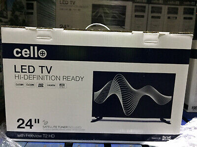 """CELLO 24"""" inch LED TV FREEVIEW HD HDMI, USB & VGA - NEW 2020 MODEL - MADE IN UK 9"""