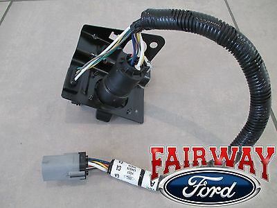 99 thru 01 f250 f350 super duty ford 4 & 7 pin trailer tow wiring  harness