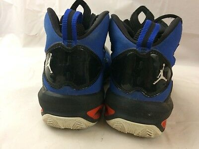 free shipping 16ed0 01c38 NIKE AIR JORDAN Melo 9 Boys 7 Youth Kid Basketball Shoes Blue Black Red  High Top