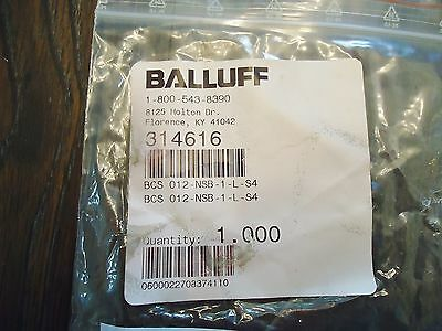 New Balluff Bcs 012-Nsb-1-L-S4 Proximity Switch M12 Capacitive 10,,,,30V 2
