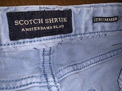 Gorgeous Boy's Cotton Designer Jeans.. By Scotch Shrunk & Soda Age 6 - LOOK! 👀! 4
