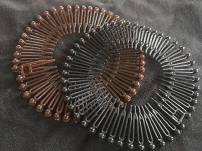 12 Hair Combs Hair Slides Hair Comb Plastic 11 cm Long with 23 teeth