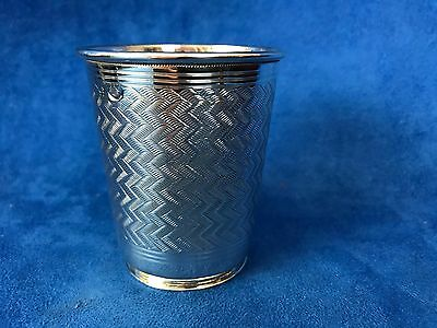 Antique Islamic, Middle East, Persian Silver Cup Engraved 3