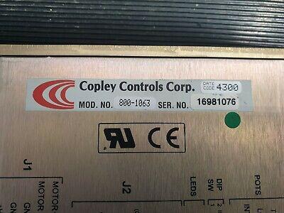 COPLEY CONTROLS 800-1063 Amplifier (IN31S3B1) 2