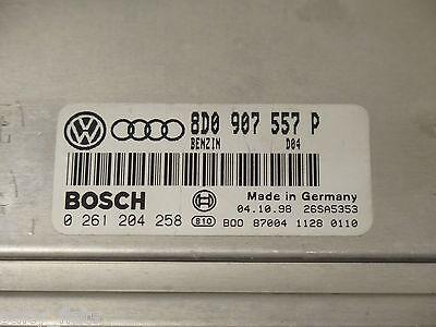 1998-00 Volkswagen Passat Audi ECU 1.8t 2.0t ECU 8D0 907 557 P Turbo Computer VW