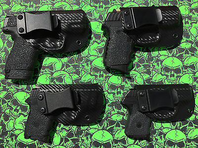 Holsters Hunting Black Kydex IWB RH holster Kel Tec P11
