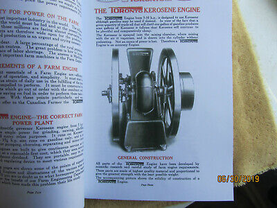 Toronto Gas Engine Catalog, All Nelson Brothers Engines, Ontario Wind Engine Co. 3