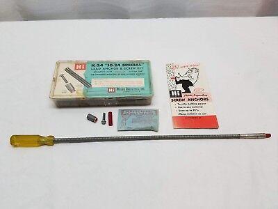Câble Ancres & Kit de Vis Ressort Pointe Outil Réglage Acier Insert 1.9cm 10-24