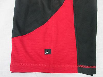 0c3f846c0346 ... 8 NWT Nike Youth Boy s Air Jordan Jumpman Basketball Shorts M L XL  Black Red  40 7