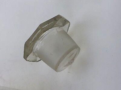 Arznei Apotheker Gefäss Apothekergefäss Glas Natr. Carbon. Sicc. 8