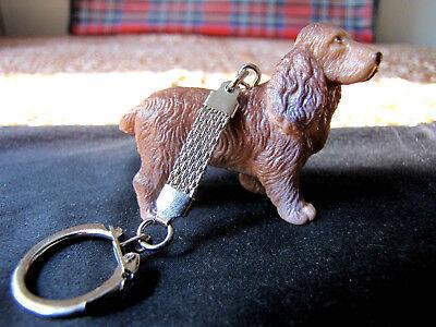 Bullyland Tiere Hunde Cockerspaniel Schlüsselanhänger 80er Jahre