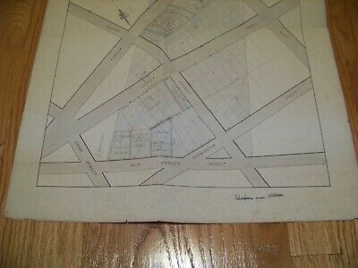 1870 Map Building Lots West Elizabeth NJ James S. Vosseller Davenport & Hinman 3
