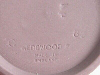 Antique / Vintage Lilac Wedgwood Jasperware Cupid Mythology Demitasse 4 Cup Set 12