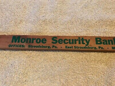 Monroe Security Bank Vintage Advertising Fly Swatter, Stroudsburg, Pa. 3