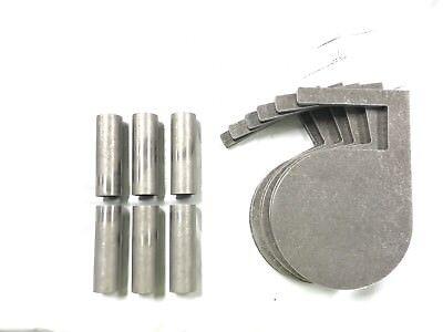 "AR500 Steel Target Dueling Tree DIY Kit 6 8/""X 3//8/"" Paddles Heavy Duty DOM Tube"