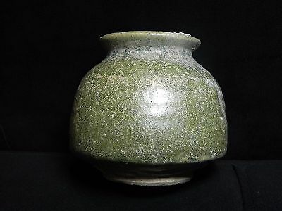Zurqieh - Holy Land. 1500 B.c Glazed Terracotta Vessel. Very Rare! 2