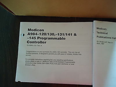 New Aeg Modicon Pc-A984-120, 042700326 Programmabel Controller Made In Germany 4